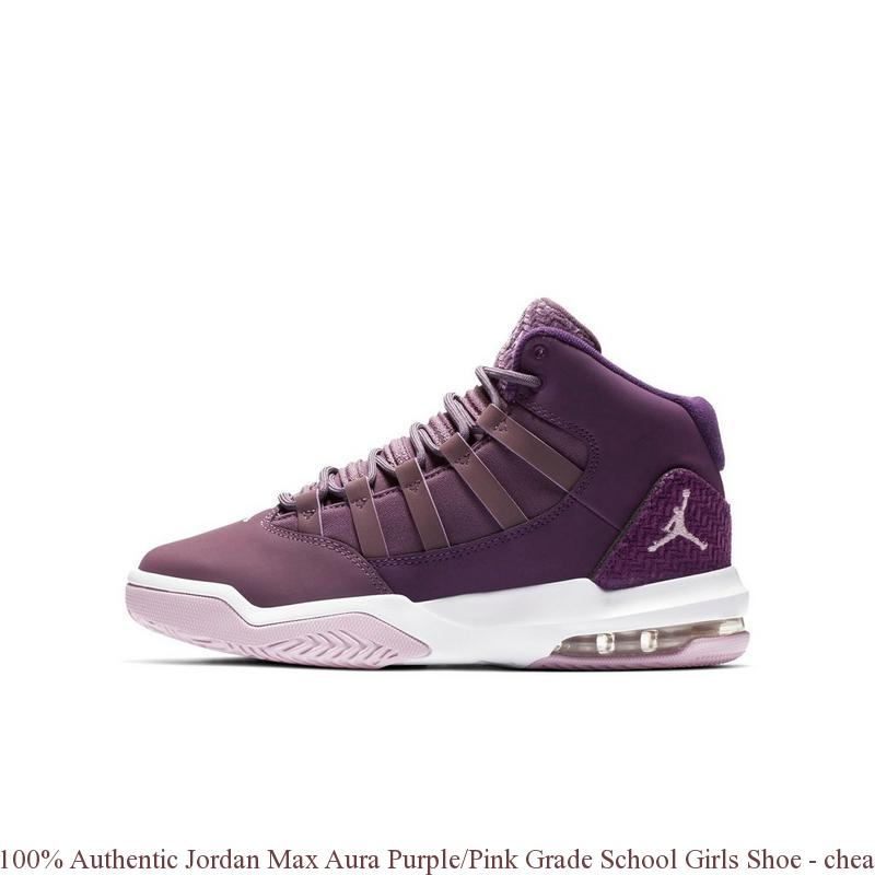 3978f3c04dc1b0 100% Authentic Jordan Max Aura Purple Pink Grade School Girls Shoe – cheap  nike ...