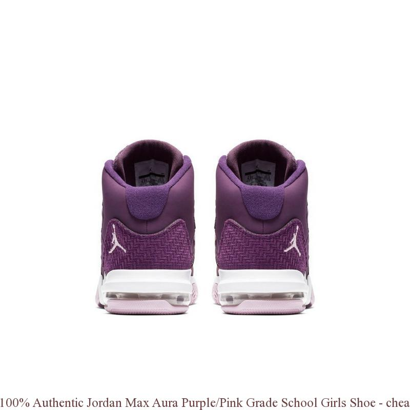 98a2947c323 100% Authentic Jordan Max Aura Purple/Pink Grade School Girls Shoe - cheap  nike shoes womens size 9 - S0394