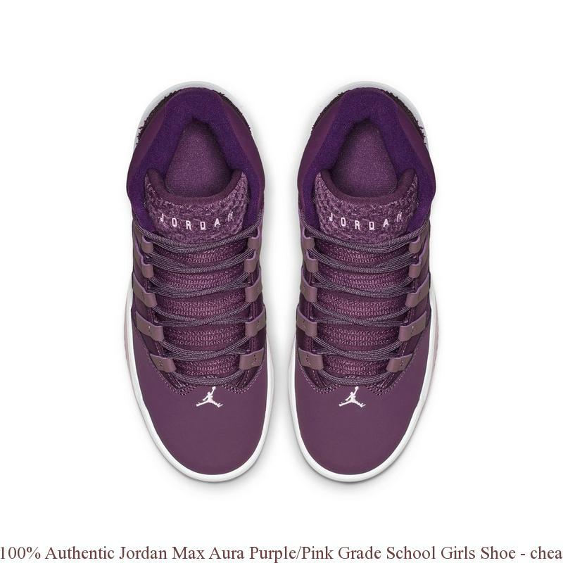 c21a734ec24b 100% Authentic Jordan Max Aura Purple Pink Grade School Girls Shoe – cheap  nike shoes ...