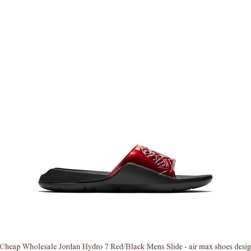 93ad67a611a4 Cheap Wholesale Jordan Hydro 7 Red Black Mens Slide – air max shoes ...