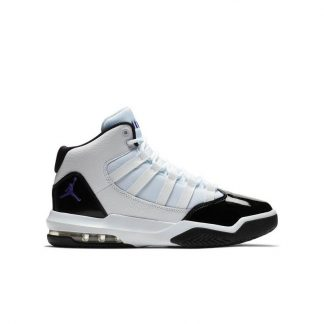 38f99bf17a66c0 Cheap Wholesale Jordan Max Aura White Black Purple Grade School Kids Shoe –  cheap air jordan shoes – R0403