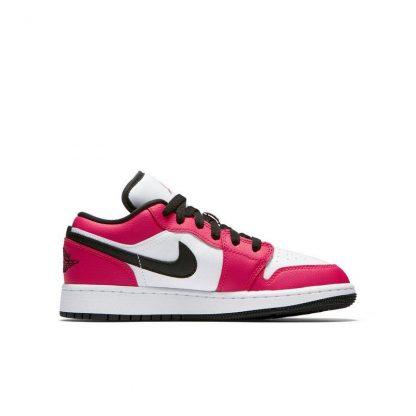 fd7783751 Free Shipping Jordan 1 Low Rush Pink Grade School Girls Shoe – cheap ...