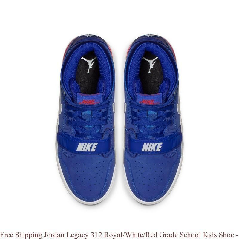 pretty nice 47a4b 9aa49 Free Shipping Jordan Legacy 312 Royal/White/Red Grade School Kids Shoe -  cheap authentic jordans for sale - R0388
